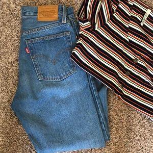 Levi's wedgie fit denim jeans